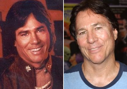 Apollo from Battlestar galactica (1978), Richard Hatch - Before and after photos