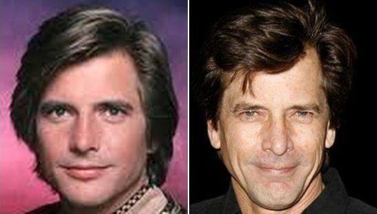 Starbuck from the Battlestar Galactica (1978), Dirk Benedict, then and now