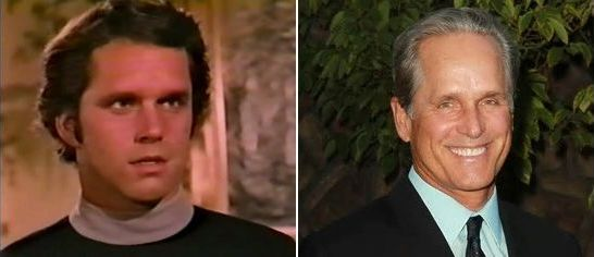 Logan's run TV series Logan (Gregory Harrison) then and now.