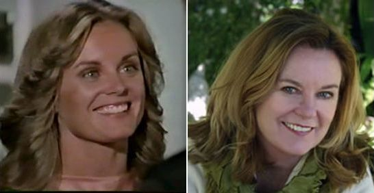 Logan's run TV series (1977) Jessica (Heather Menzies) then and now